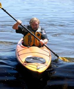 Kayak shot