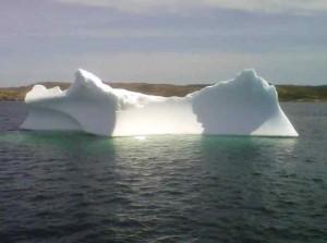 An iceberg off Twillingate
