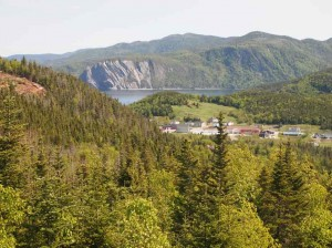 The mountains of Gros Morne National Park