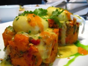 mesa poached eggs