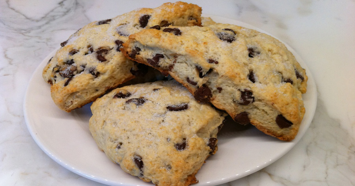 Gluten Free Chocolate Chip Scones by Americus Garden Inn B&B ...