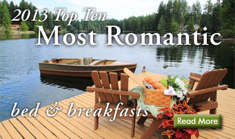 2013 top romantic bed and breakfasts
